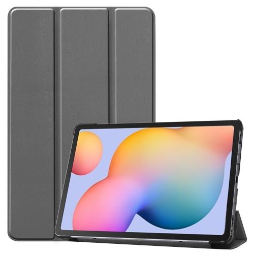 FORCELL LEATHER Zaklápací obal Samsung Galaxy Tab S6 Lite (P610/T615) šedý