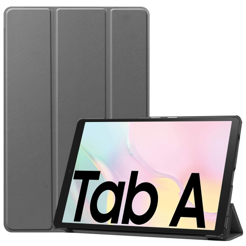 FORCELL LEATHER Zaklápací obal Samsung Galaxy Tab A7 10.4 (T500 / T505) šedý
