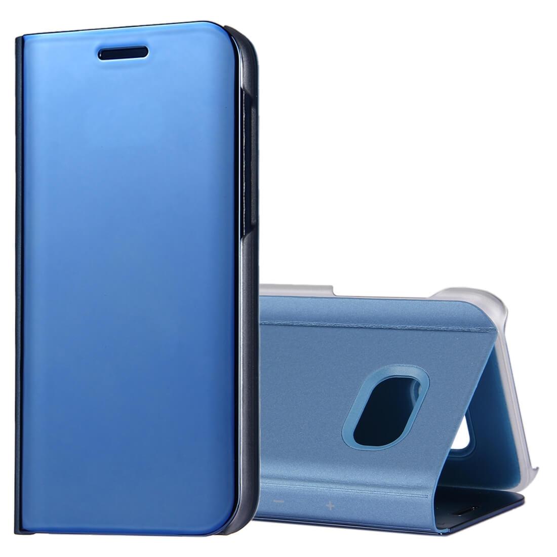 FORCELL MIRROR Zaklápací kryt Samsung Galaxy A5 2017 (A520) modrý
