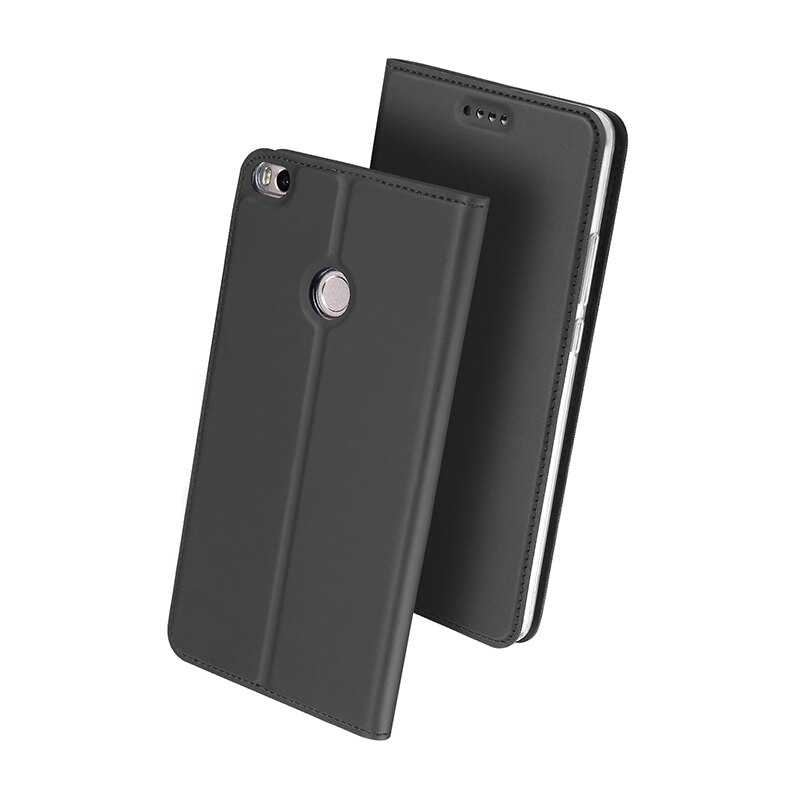 DUX Flipové púzdro Xiaomi Mi Max 2 šedé